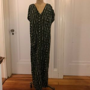 Anthropologie maxi dress; size XS
